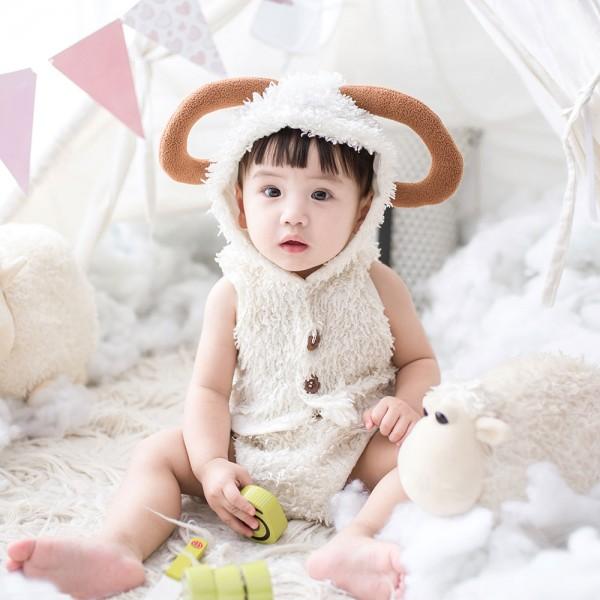 유아용 곰인형 옷