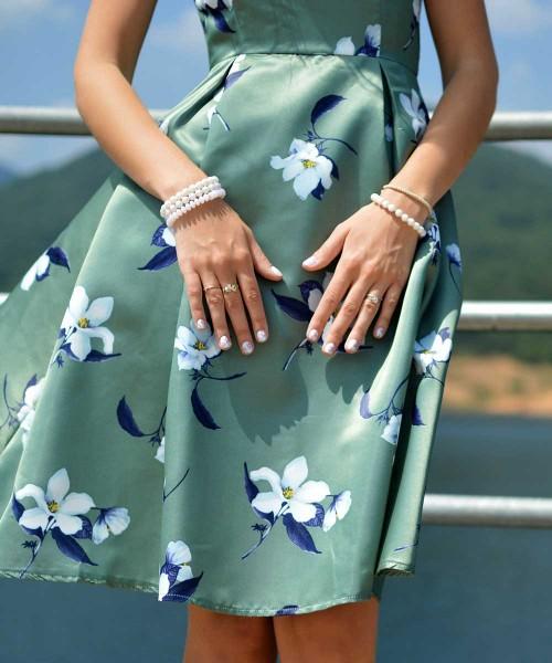 [Dress] 구프르 아티틀 플라워 프린트 드래스