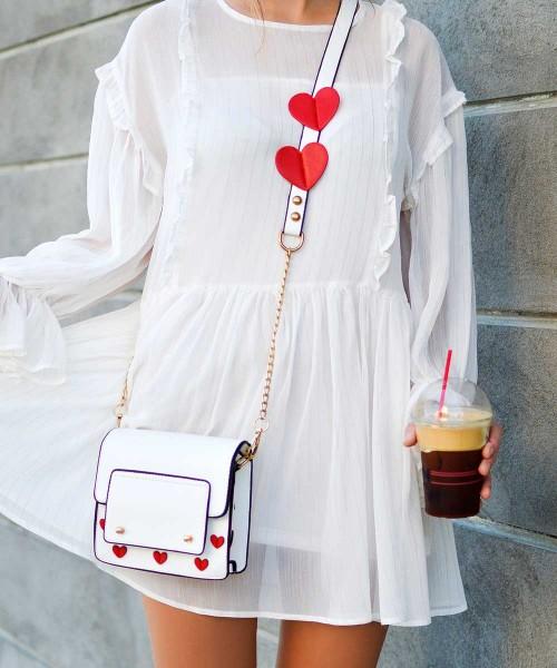 [Dress] 아티틀 플라워 화이트 드래스