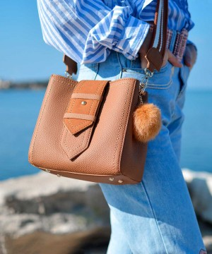 [Bag] 무늬엘 루그오스 아이엘키니 천연가죽 가방